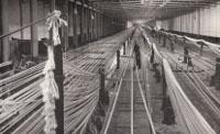 Rope walk, Belfast Ropeworks, 1949.