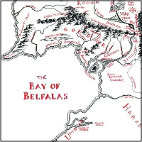 Map of the Bay of Belfalas.