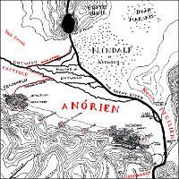 Map of Anórien.