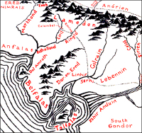 Map of Belfalas.