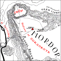 Map of Gorgoroth.