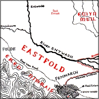 Map of the Eastfold.