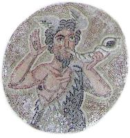Triton blowing a conch-shell horn