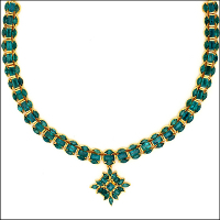 Emerald necklace.